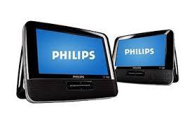 target black friday dvd player portable philips pd7016 dual screen portable dvd player u2013 walmart mommysavers