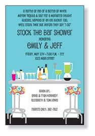 stock the bar shower stock the bar party invitations pink ink boutique