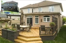 Patios And Decks For Small Backyards by Backyard Deck Designs Plans Deck Designs This Deck Plan Is For A