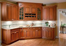 Cherry Cabinet Colors Kitchen Wonderful Natural Cherry Kitchen Cabinets Light Wood