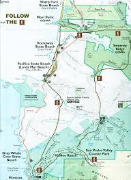 Mt Diablo State Park Map by Sweeney Ridge Park