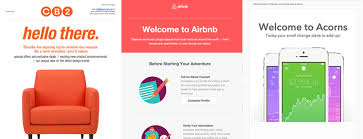 beautifully designed 10 beautifully designed welcome emails for your inspiration