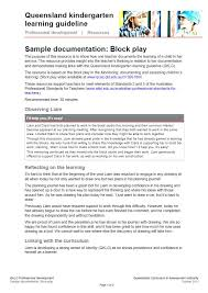 lesson plan template qld 70 best queensland kindergarten learning guideline images on