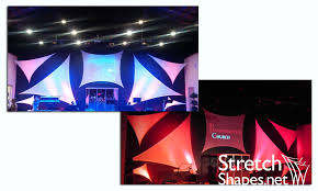 church backdrops spandex church stage backdrop stretch shapes