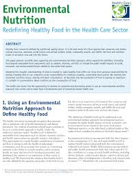 N Home Health Care by Healthy Food In Health Care Health Care Without Harm