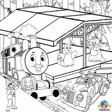 drawing thomas tank engine coloring pages to color free halloween