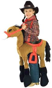 amazon com forum novelties children u0027s costume ride a pony brown