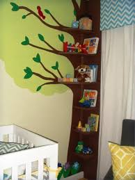 Babyletto Tree Bookcase White by Nursery Bookshelf Frontfacing Builtin In A Kids Roomnursery Home