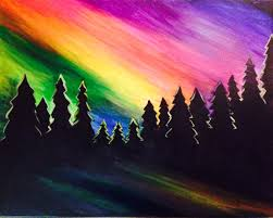 how to paint northern lights northern lights jackson art studio gallery