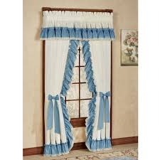 curtains stephanie ruffled priscilla curtains solid color