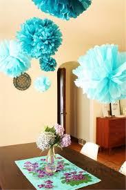 Tiffany Color Party Decorations Decorative Decorative Picture More Detailed Picture About 50pcs
