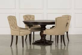 jefferson 5 piece extension round dining set living spaces