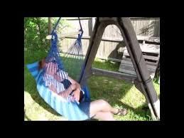 zeny hanging patio chair hammock swing youtube
