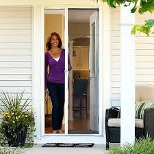 French Patio Doors With Screen by Odl Brisa Retractable Screen Doors For Exterior Doors French