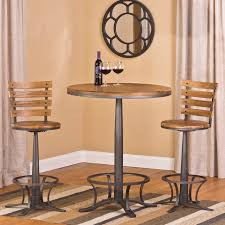 Indoor Bistro Table And Chair Set Westview Bar Height 3 Bistro Set Contemporary Indoor Pub Bar