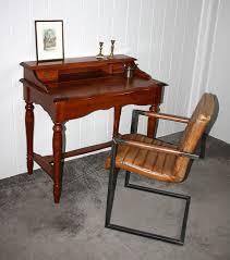 Kleine Schreibtische Aus Holz Italienischer Sekretär Kirschbaumfarben Schreibtisch Konsolentisch