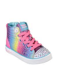 rainbow light up shoes skechers twinkle breeze 2 0 rainbow glitz light up shoes girls 11