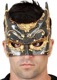 mens venetian mask batman venetian mask black and gold men s batman masquerade mask