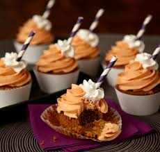 Fall Cake Decorations Pumpkin Spice Latte Cupcakes Recipe Wilton