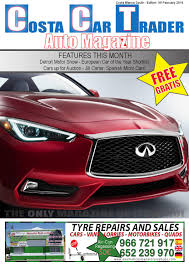 cct february 2016 by costa car trader issuu