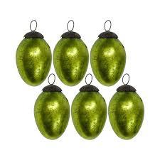 Glass Christmas Ornament Sets - giftbay 066 s 6 glass christmas tree ornament set of 6 pcs an antiqu