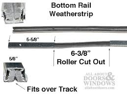 Patio Door Weatherstripping Ches Hes Inverted U Cap Bottom Patio Door Weatherstrip Channel