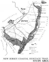 Map Of New Jersey Shore Resorts And Recreation Table Of Contents