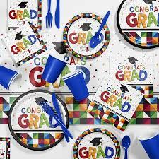 graduation party supplies fractal graduation party supplies kit walmart