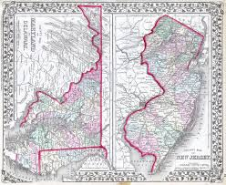 map of maryland delaware and new jersey file 1874 mitchell map of maryland new jersey and delaware