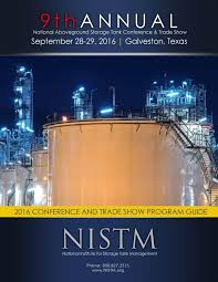 nistm program guide 9th annual national aboveground storage tank