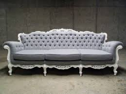 tufted gray sofa gray tufted foter