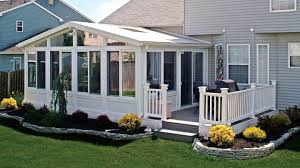 enclosed patio kits home outdoor decoration