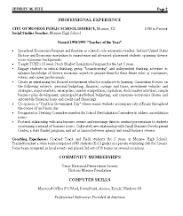 Best Resume Profiles by Civic Leader Political Resume Example