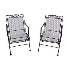 Patio Furniture Metal Mesh - furniture metal mesh dining chairs winda furniture retro metal