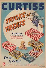 halloween candy ads from the 1950s and 1960s