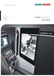ecoturn dmg mori pdf catalogue technical documentation