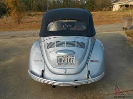 blue volkswagen beetle 1970 volkswagen beetle convertible bluish silver with a dark blue