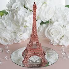 eiffel tower centerpieces ideas treasured affection eiffel tower centerpiece 10 gold