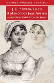 jane austen author biography a memoir of jane austen and other family recollections by j e