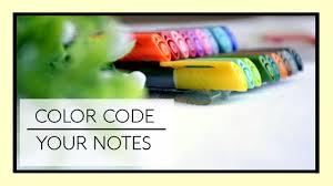 how to color code your notes youtube