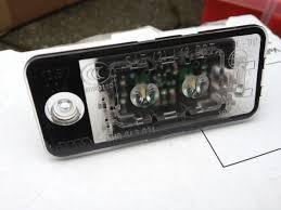 vwvortex com oem led licence plate lights