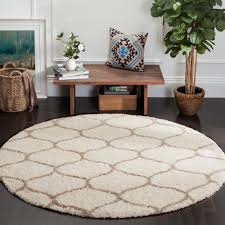 7 x 7 area rugs safavieh hudson shag ivory beige 7 ft x 7 ft round area rug