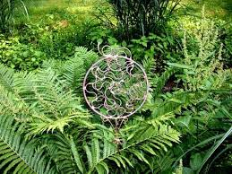 recycled copper lawn garden sculpture