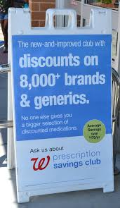 walgreens open thanksgiving day save with walgreens prescription savings club even with insurance