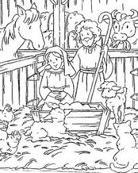 coloring pages cold winter spent