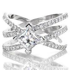 unique princess cut engagement rings unique engagement rings at jewelers minneapolis minnesota