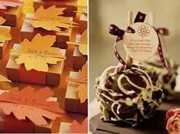 fall wedding favor ideas hot fall wedding detail ideas 2013 trends elegantweddinginvites