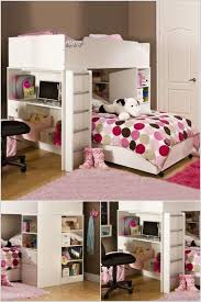 bunk beds for girls with desk bedroom design pretty cymax bunk beds for teens or kids bedroom