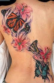 beautiful butterfly tattoos inked magazine part 10