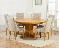 Great Round Dining Table For   Person Dining Table  Person - Round kitchen table sets for 6